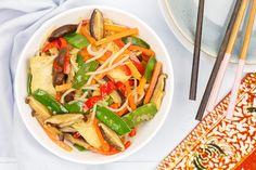 Chinese tjap tjoy Quick Healthy Meals, Healthy Recipes, A Food, Good Food, Char Siu, Asian Recipes, Ethnic Recipes, Japchae, Pasta Salad