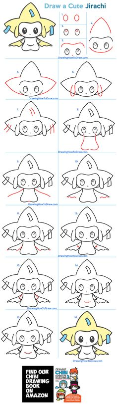 Disney Drawings Sketches, Kawaii Drawings, Cute Drawings, Easy Doodles Drawings, Simple Doodles, Kawaii Chibi, Cute Chibi, Drawing Tutorials For Kids, Drawing Tips