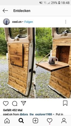 roadtrip // camper / van / van life langsames leben slowlife / stra lif life diy how to build life diy ideas life diy interiors life diy projects Van Conversion Interior, Camper Van Conversion Diy, Van Interior, Van Conversion On A Budget, Camper Interior, Camping Car Van, Camping Hacks, Rv Hacks, Kangoo Camper