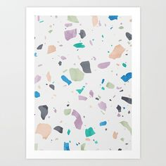 Seeing Shapes in Terrazzo with Society6 - Design Milk