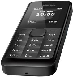 Buy Nokia 105 RM-1135 Dual-Band (850/1900) Factory Unlocked Mobile Phone Black no warranty USED for 17 USD | Reusell