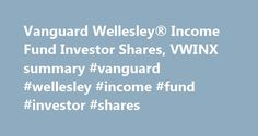 Vanguard Wellesley® Income Fund Investor Shares, VWINX summary #vanguard #wellesley #income #fund #investor #shares http://mesa.remmont.com/vanguard-wellesley-income-fund-investor-shares-vwinx-summary-vanguard-wellesley-income-fund-investor-shares/  # Vanguard Wellesley Income Fund Investor Shares Vanguard Wellesley Income Fund Investor Shares Objective The investment seeks to provide long-term growth of income and a high and sustainable level of current income, along with moderate long-term…
