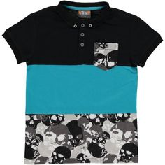 ab9a10b9b45d4 Skull Colour Block Golfer from Ackermans, a South African value retailer  and stockists of affordable family clothing, footwear, textiles and  cellular in ...