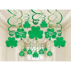 St Patricks Day Mega Swirl Value Pack 30ct | Wally's Party Supply Store
