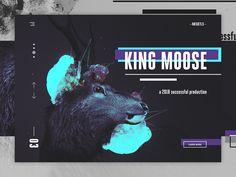 NOSKTLS - Digital Agency landing page concept #2 by Robert Berki