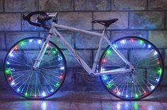 20 LED Spoke Lights, Bicycle