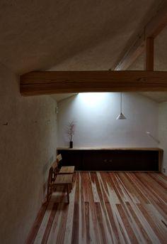 japanese residence, prasterer, beam, 左官, 梁