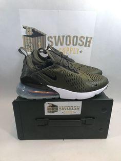 bebcff7b97066 Nike Air Max 270 Medium Olive size 8 Premium Running Shoes AH8050 201  Airmax  Nike