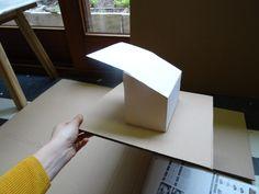 Proces maquettes  Materiaal : Papier - karton