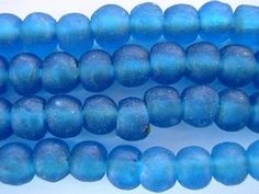 Ghana recycled glass beads.  I have not seen these before.  Going to look into these!