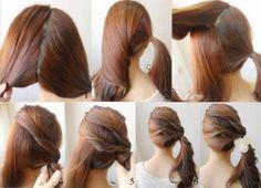penteados fáceis de fazer sozinha para formatura