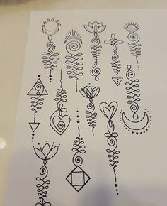 Image result for unalome designs