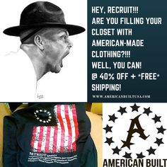 Now that you're fat and happy, these prices fit the biggest appetite! http://www.americanbuiltusa.com  Use PROMO code: USABF Vote with your dollar! #AmericanBuiltUSA #StitchedIntheStates