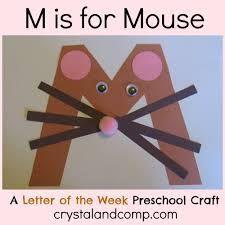 Letter M Crafts - Preschool and Kindergarten Preschool Letter Crafts, Alphabet Letter Crafts, Abc Crafts, Preschool Projects, Preschool Literacy, Daycare Crafts, Classroom Crafts, Preschool Activities, Zoo Phonics