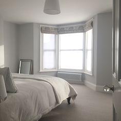 Bedroom, Farrow and Ball Blackened
