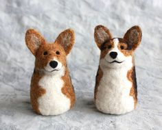 Extra Tiny Pet Portrait  Fiber Friends Nubbins by FiberFriends