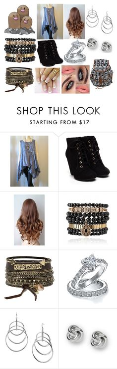 """""""#051 Dugtrio Theme"""" by kitty-styles-horan-biedka ❤ liked on Polyvore featuring beauty, Samantha Wills, BKE, Bling Jewelry, Michael Kors and FOSSIL"""