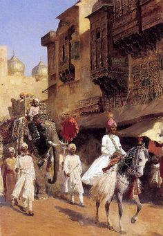 Edwin Lord Weeks ~ Indian Prince And Parade Ceremony