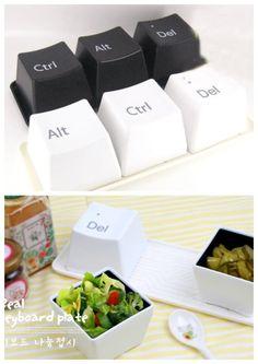 Creative keyboard plates