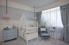 royal atmosphere in this baby boy nursery