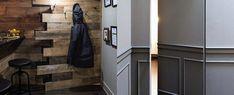 Top 50 Best Hidden Door Ideas - Secret Room Entrance Designs Interior Door Trim, Black Interior Doors, Painted Pantry Doors, Hidden Door Bookcase, Best Interior, Interior Design, Interior Office, Barn Door Designs, Hidden Rooms