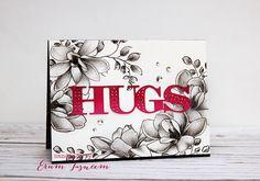 *VIBGYOR Krafts*: Altenew August Inspiration Challenge altenew magnolias for her plus golden garden stamp set pencil colored. Die by Papertrey Ink