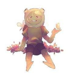 Adventure Time Grass Finn Mertens Fern The Human