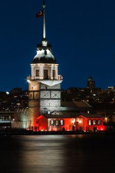"""Maiden Tower"" Istanbul, Turkey"