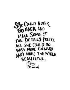 Monday Words: Make the Whole Beautiful- Glisten & Grace