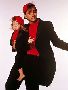 Ohhhhh, Uncle Jessie. You have the best hair. If I had a girl, this would be Halloween this year.