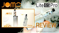 An unboxing, how-to and review of the Lite 65 Pro kit by Jomotech. The Lite 65 Pro kit features a variable wattage and temperature control battery with a range from 7 to 65w. The Lite tank is a glass and stainless steel, airflow controlled tank with a 3ml e-liquid capacity. #vape #vaping #vapereview #mods #ecigs #quitsmoking #quitcigs