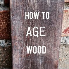 Don't you just love how old barn wood looks? It's so pretty......I could stare at it all day! With the rise in popularity of aged wood in home decorating, furniture, siding and more, it's getting h...