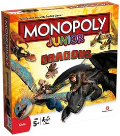 Top choix 2 Junior Monopoly - How To Train Your Dragon Board Game: Amazon.fr: Jeux et Jouets