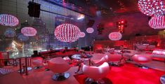 OMGosh! Red Disco Balls love! Receptions Preston Bailey 20