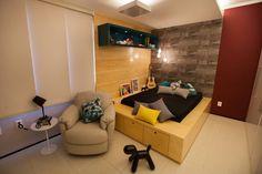 Apartamento AF: Quartos translation missing: br.style.quartos.ecletico por Passo3 Arquitetura