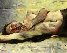 Kent Williams figure drawing and figure painting