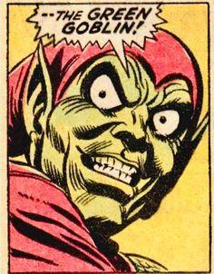 Marvel Comic Books, Comic Book Heroes, Marvel Comics, Steve Ditko, Hobgoblin, Marvel Villains, Green Goblin, Comic Drawing, Spider Verse