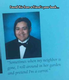 101 Best Funny Yearbook Quotes Images Funny Stuff Funny Things Jokes