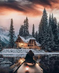 22 Must See Winter Cabins Deep In The Woods Looking for inspiration on your next. - 22 Must See Winter Cabins Deep In The Woods Looking for inspiration on your next. 22 Must See Winter Cabins Deep In The Woods Looking for inspiratio. Winter Szenen, Winter Cabin, Deep Winter, Winter Christmas, Snow Cabin, Winter Season, Winter Night, Winter Love, Winter Style