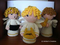 Amber's Creaties: Kraamvisite in de kerststal