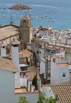 Tossa de Mar - Costa Brava, Catalonia.