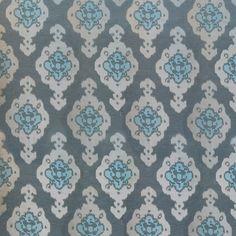 Izmir in Twilite from Old World Weavers/Stark #fabric #silk #linen #blue