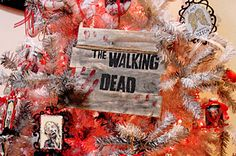BADASS Walking Dead Christmas Tree
