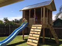 installation of attaching a slide to your cubby or fort – Country Cubbies. Want to watch our video? installation of attaching a slide to your cubby or fort – Country Cubbies. Want to watch our video? Kids Cubby Houses, Kids Cubbies, Play Houses, Kids Play Equipment, Outdoor Play Equipment, Backyard Fort, Cute Cottage, Toy Rooms