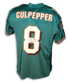 2eaecc2b5 Daunte Culpepper Uniform - Autographed NFL Jerseys. Miami Dolphins  MemesPromotional EventsMinnesota VikingsNfl JerseysReebokFootballSports