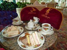 Disney Dining: High Tea – Afternoon Tea at Grand Floridian's Garden View Tea Room   Tips from the Disney Divas and Devos