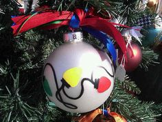 easy but cute painted ornament