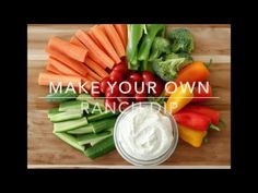 Tangy, flavorful ranch dip can be made from scratch in just 5 minutes! This quick and easy homemade ranch dip is a staple in our lives. Appetizer Dips, Appetizer Recipes, Homemade Ranch Dip, Vegetable Dips, Party Dip Recipes, Homemade Buttermilk, Cooking Recipes, Healthy Recipes, Recipe For Mom