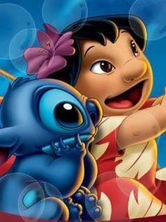 LILO and stitch are my favorite Disney characters ever. I know ...