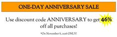Get 46% Off One Day Only! – The General Store Seattle, LLC